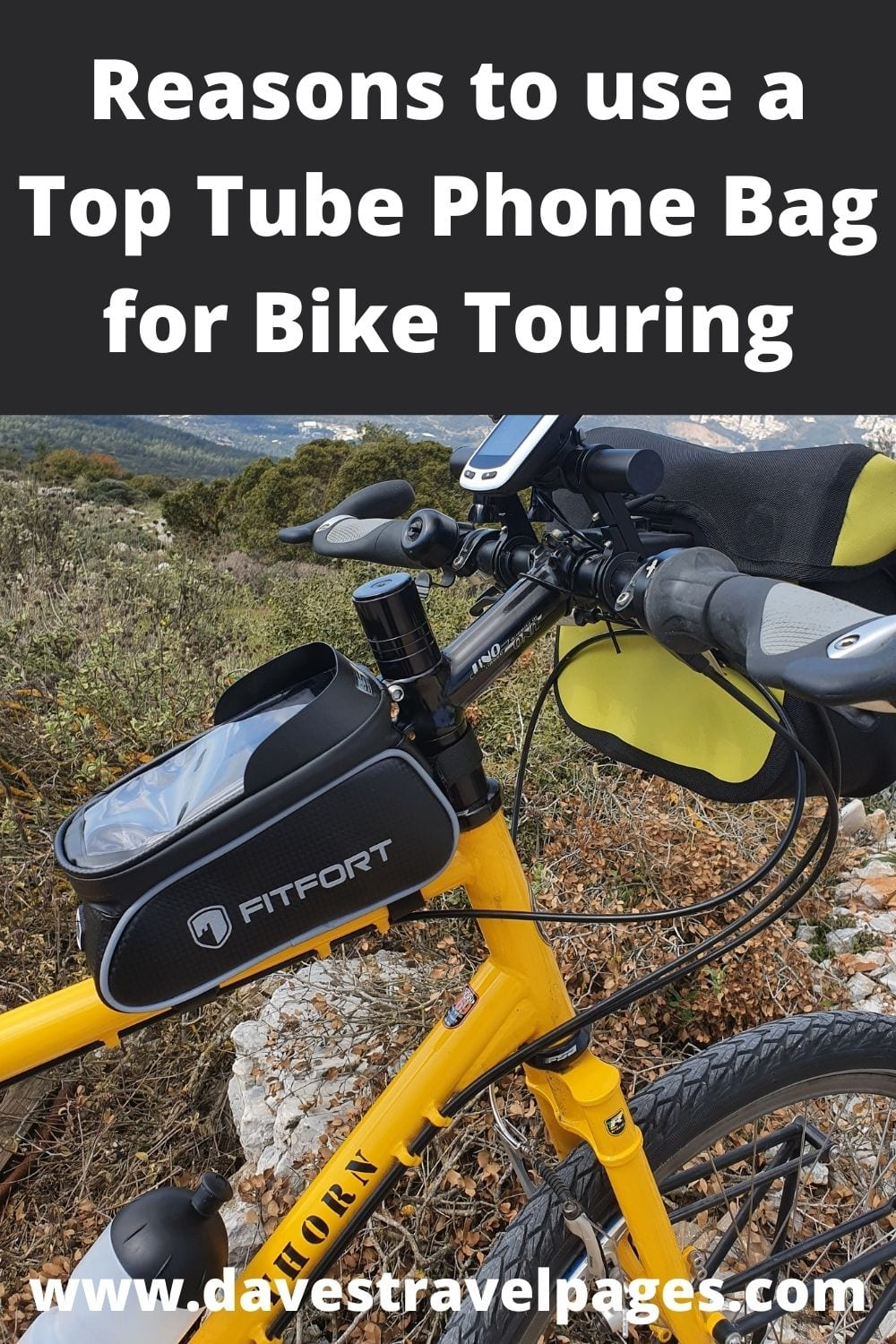 Reasons to use a Top Tube Bike Bag for Touring