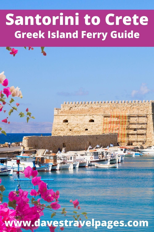 Santorini to Crete Ferry Guide