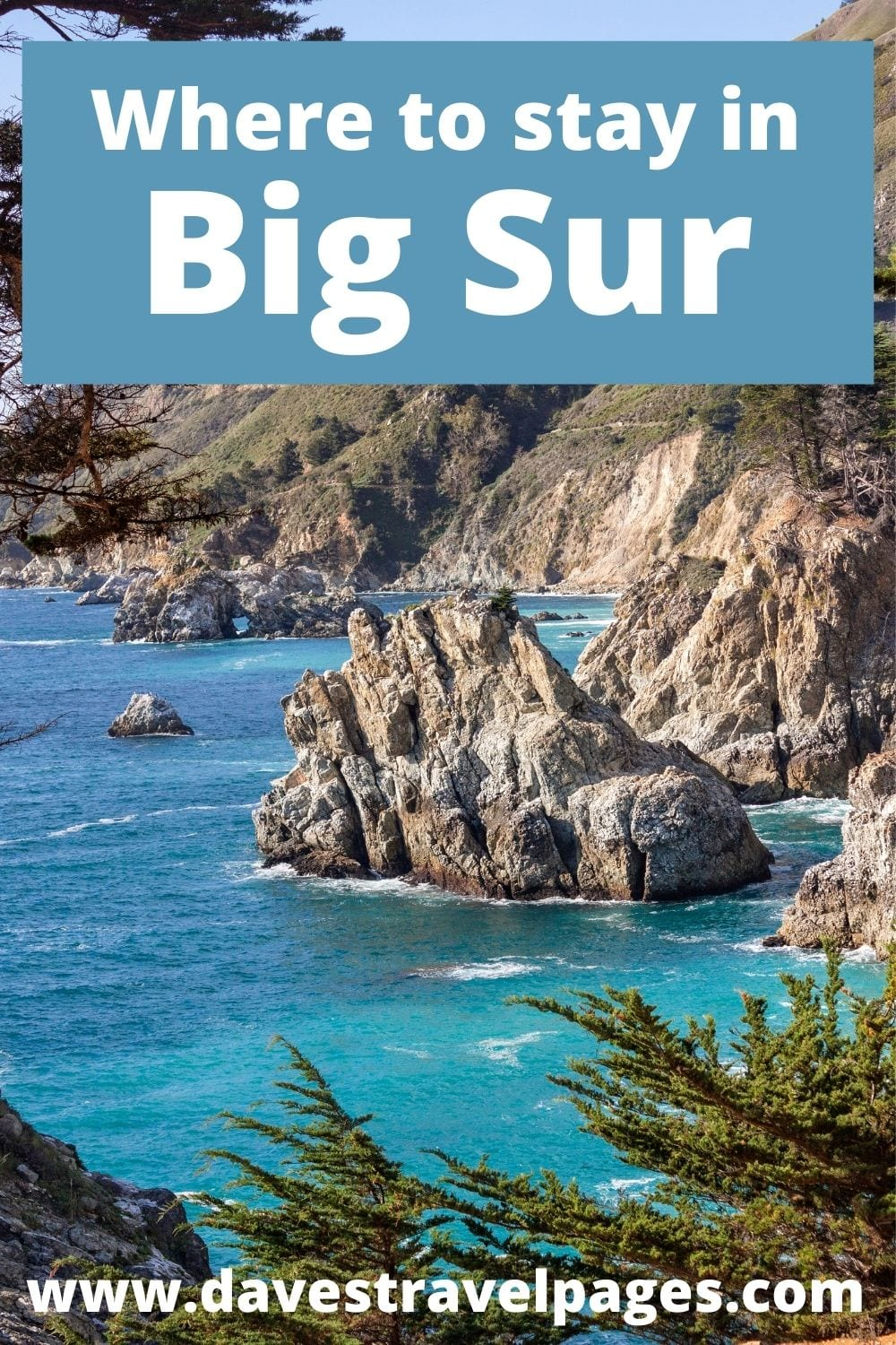 Where to stay in Big Sur BnB, Hotels and Camping