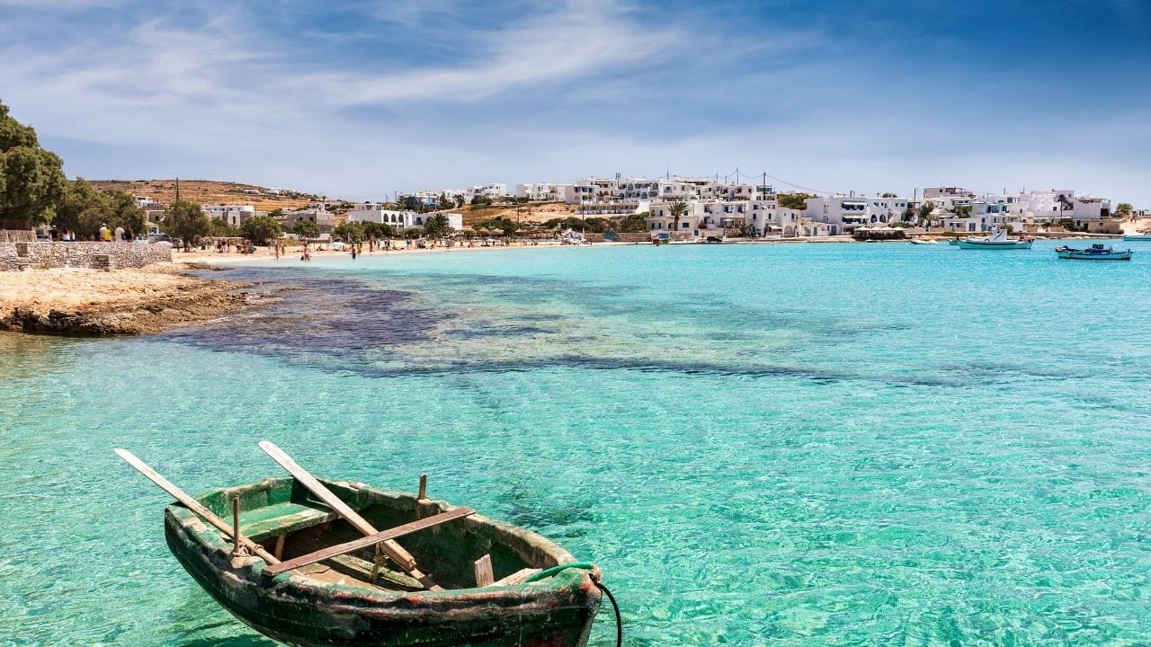 Traveling to Koufonisia in Greece