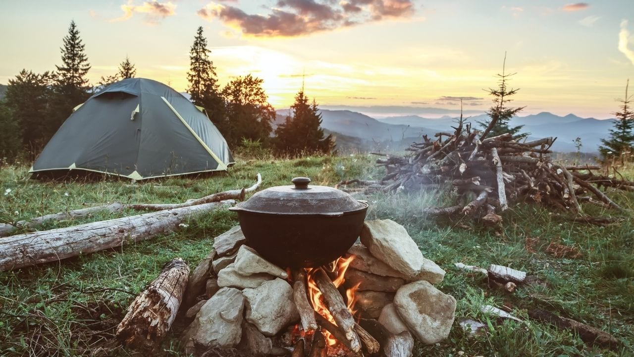 Choosing a tent for camping