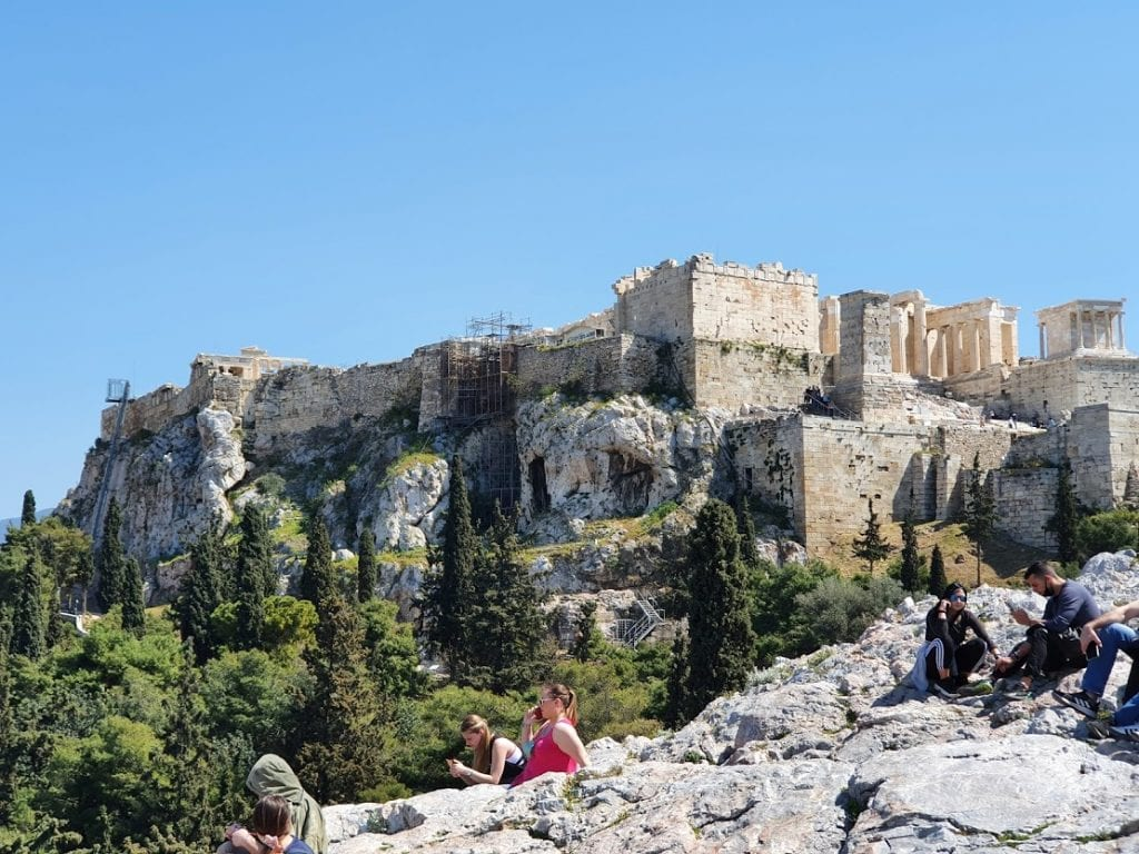 The Acropolis is the most well known of the historical sites in Athens Greece