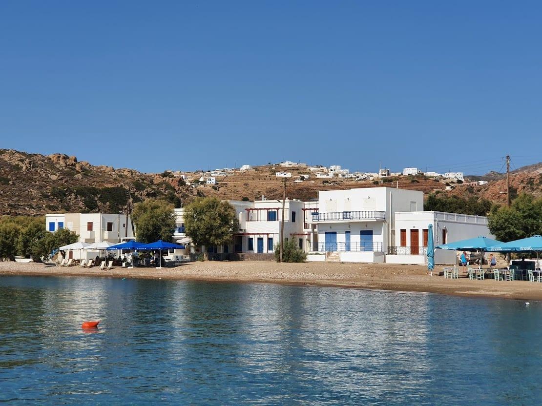 Psathi beach in Kimolos Greece