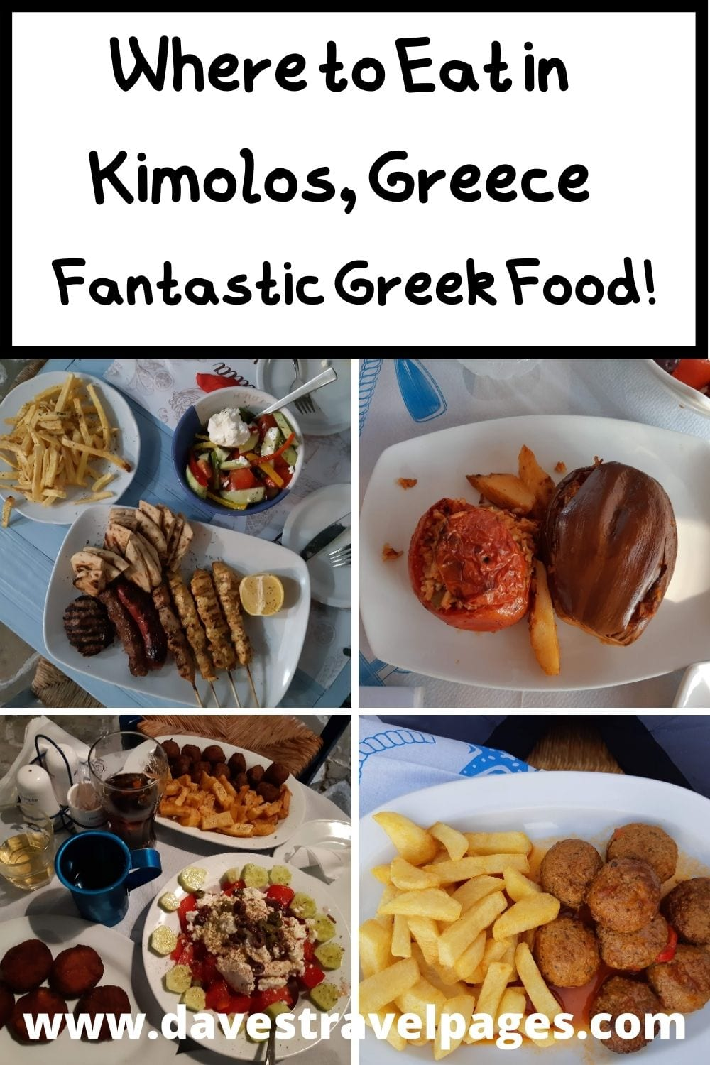 What and where to eat in the Greek island of Kimolos