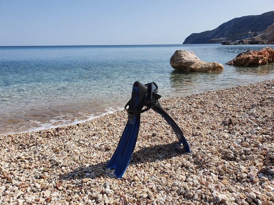 Snorkeling in Milos Greece