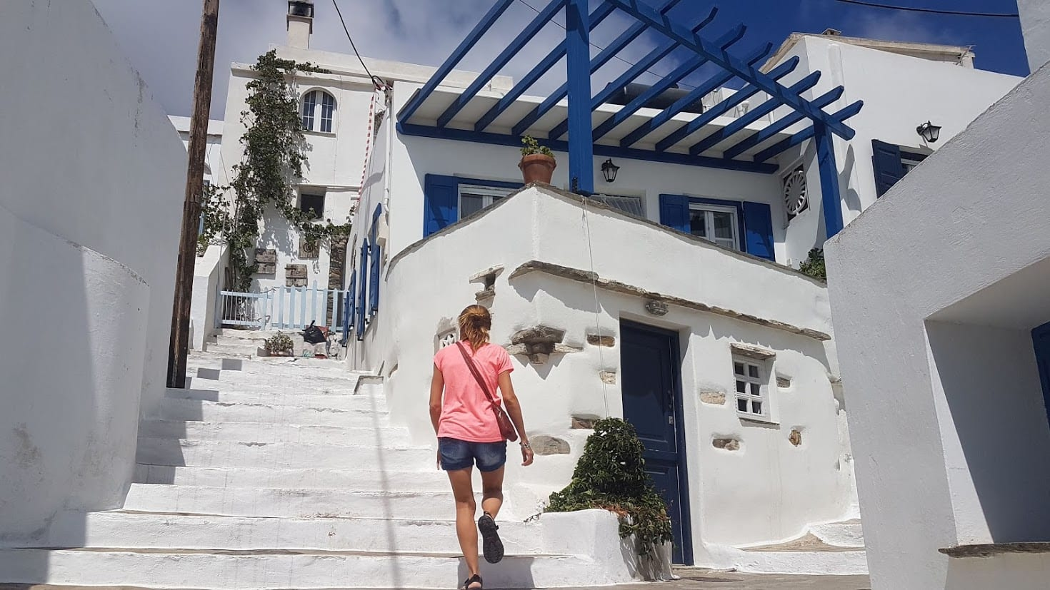 The Greek island of Tinos is a good choice for couples
