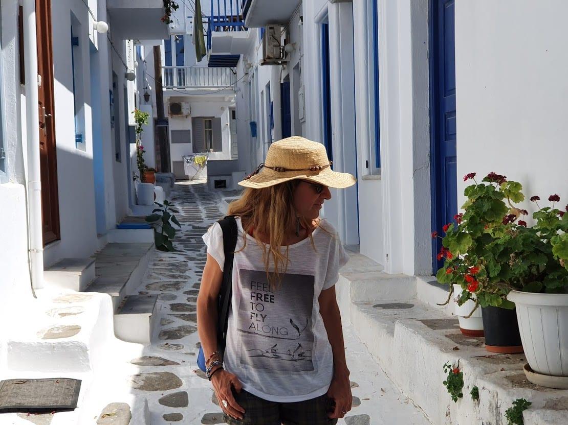 Vanessa in Mykonos