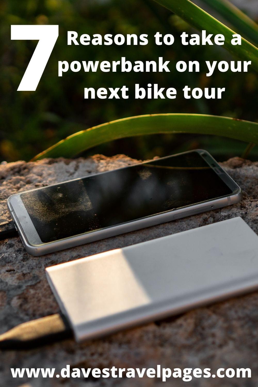 Why you should take a powerbank on a bikepacking trip