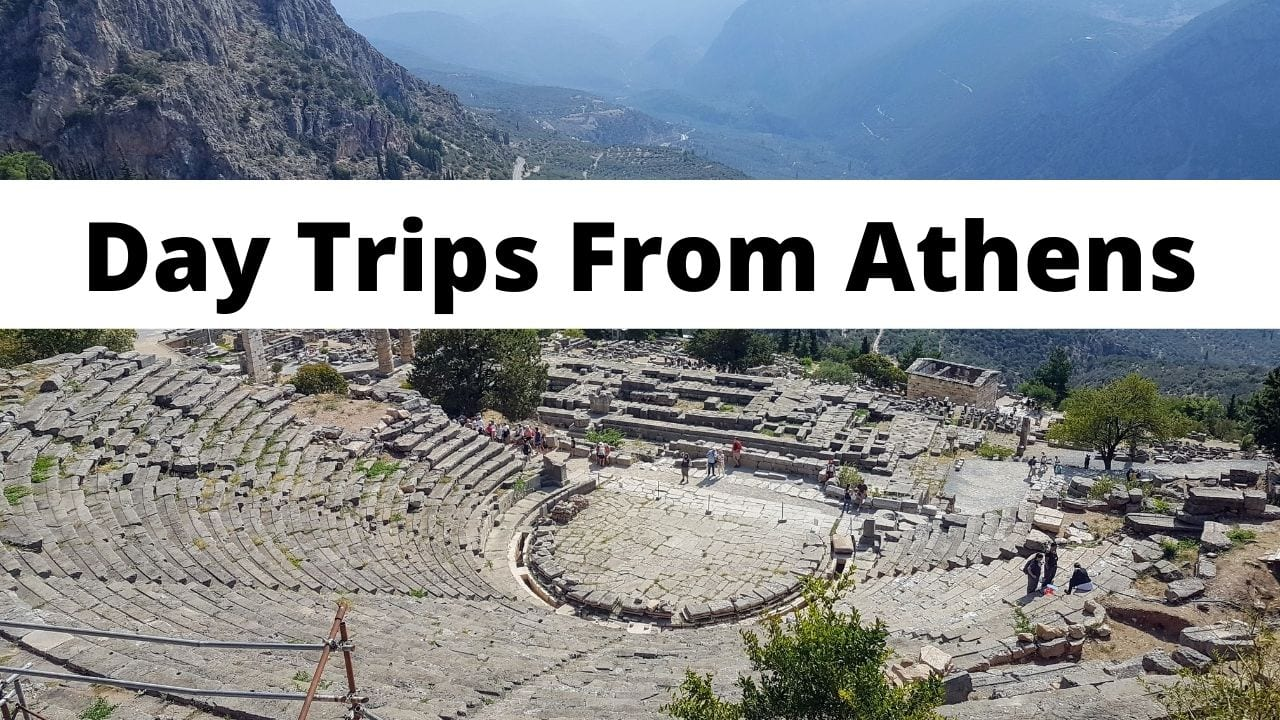 A list of 12 great day tours from Athens