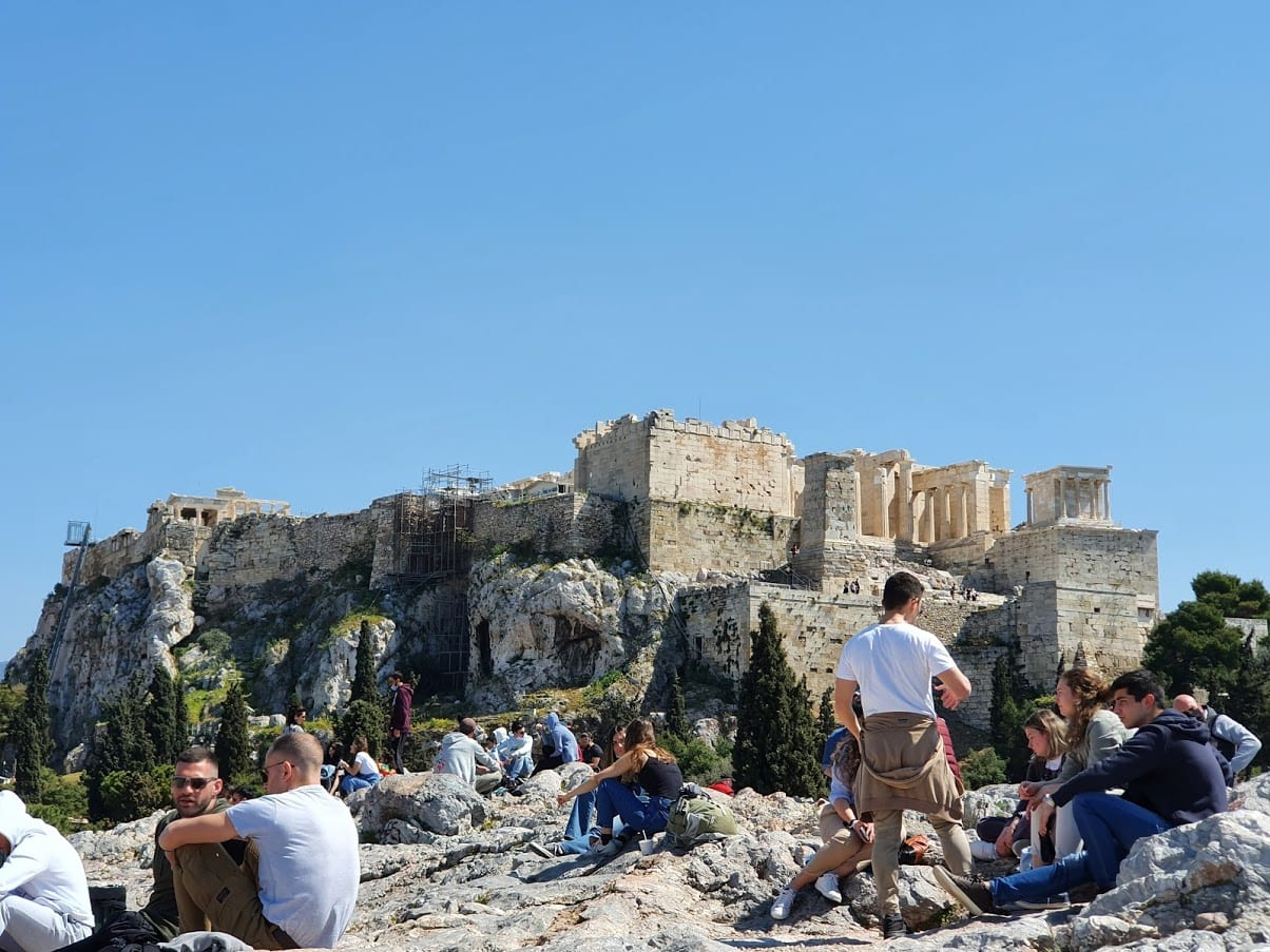 Being able to visit the Acropolis is one of the best reasons to visit Athens