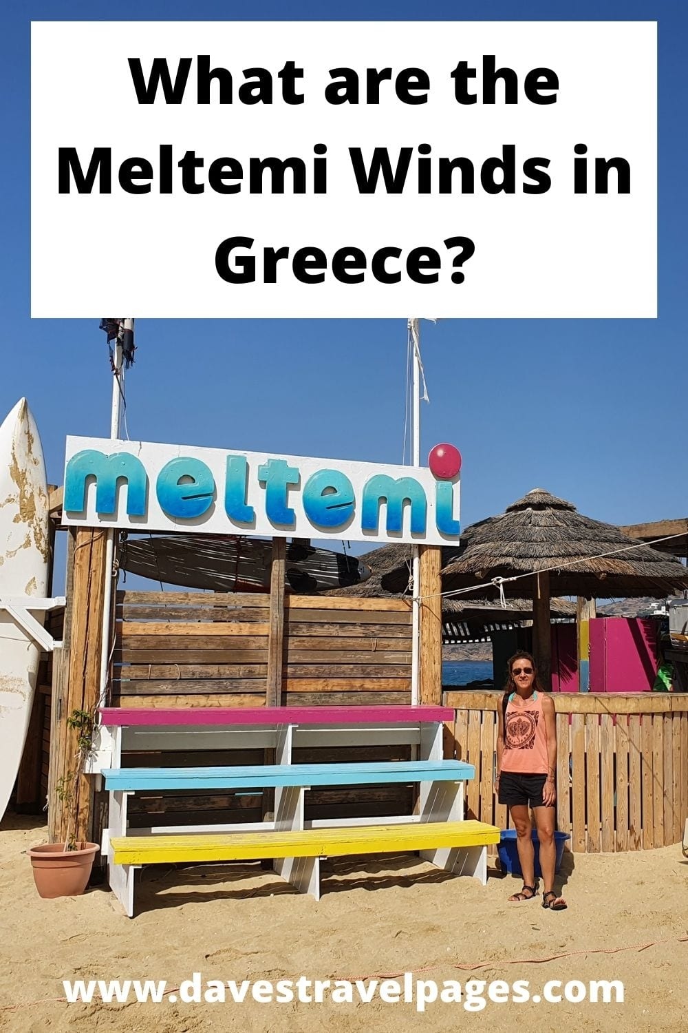 The Meltemi Winds in Greece - All you need to know