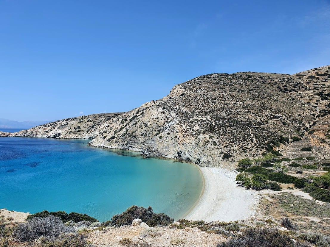 The amazing Livadi beach in Donoussa