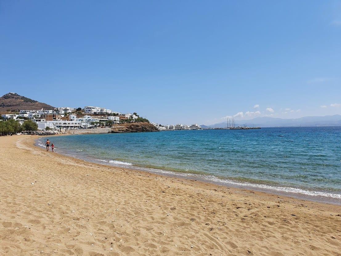 Logaros Beach in Paros