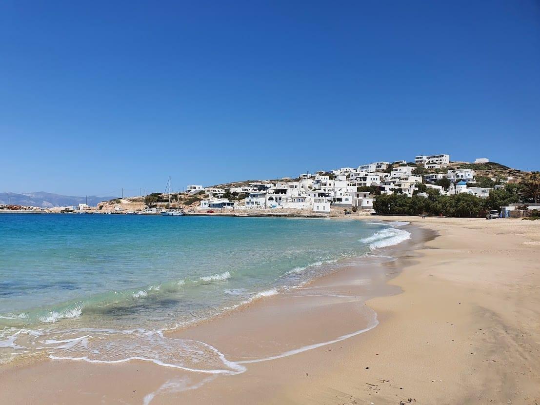 Stavros beach in Donoussa