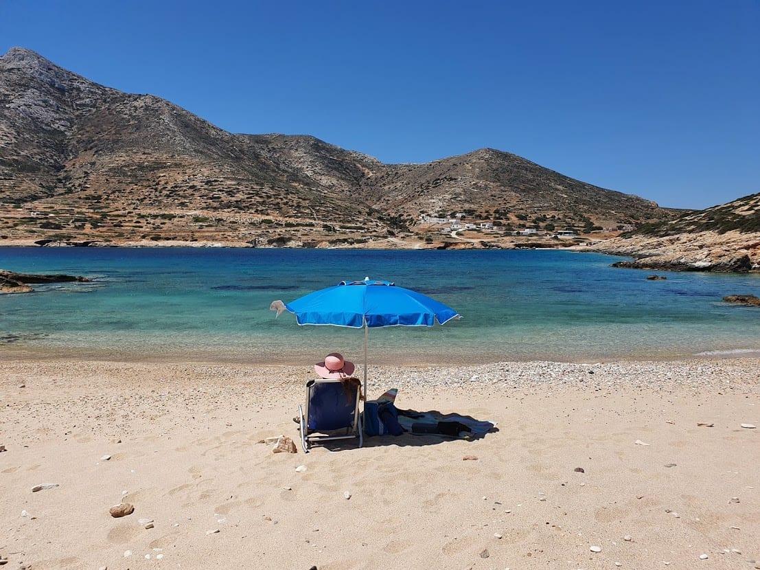 Tripiti Beach in Donoussa