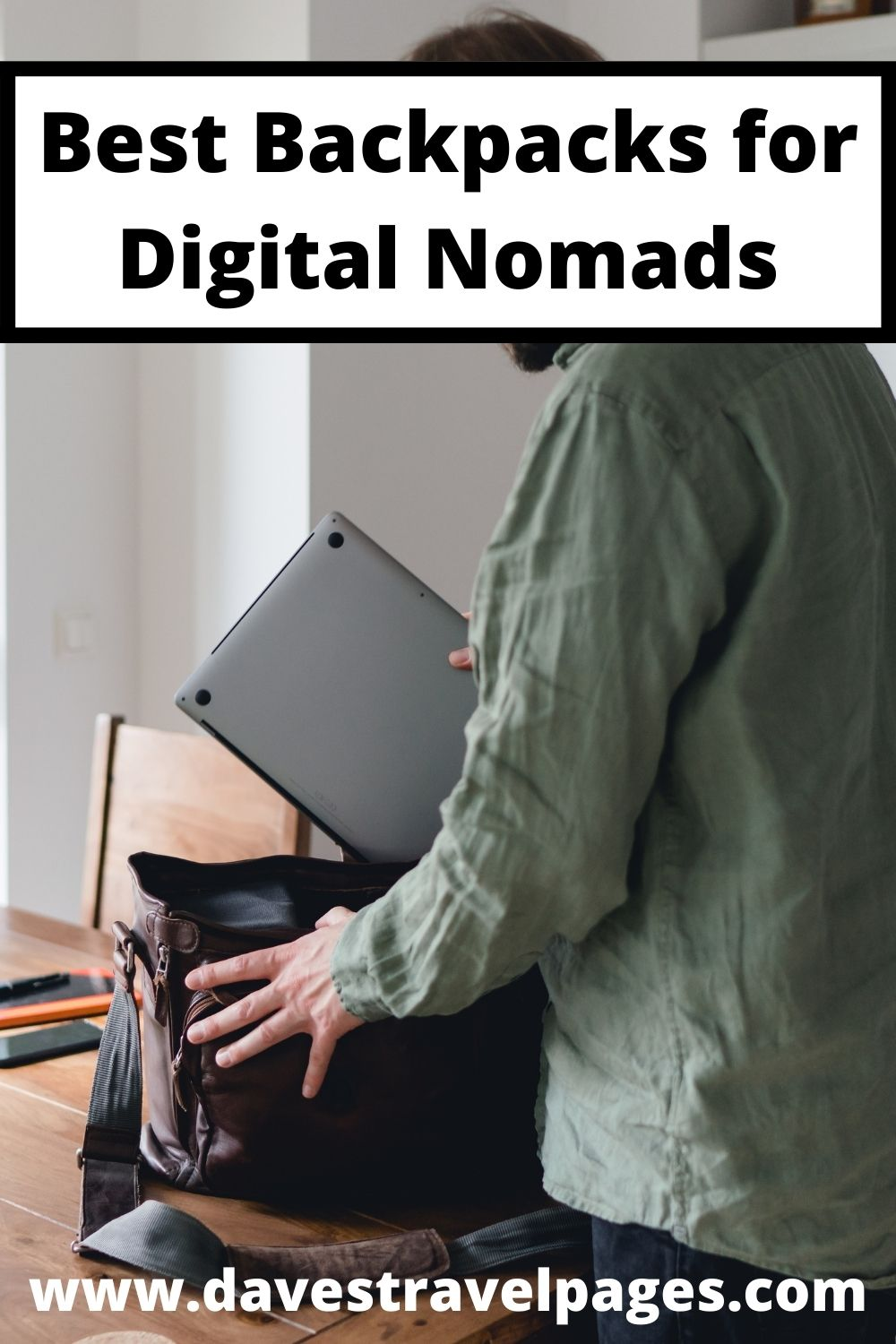 What digital nomads should look for in a backpack