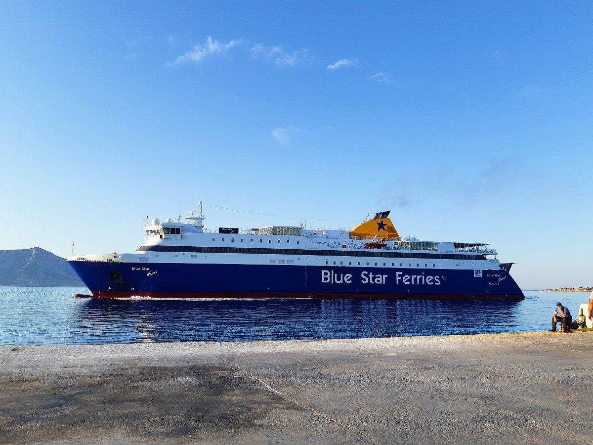 Blue Star ferry to Koufonisia