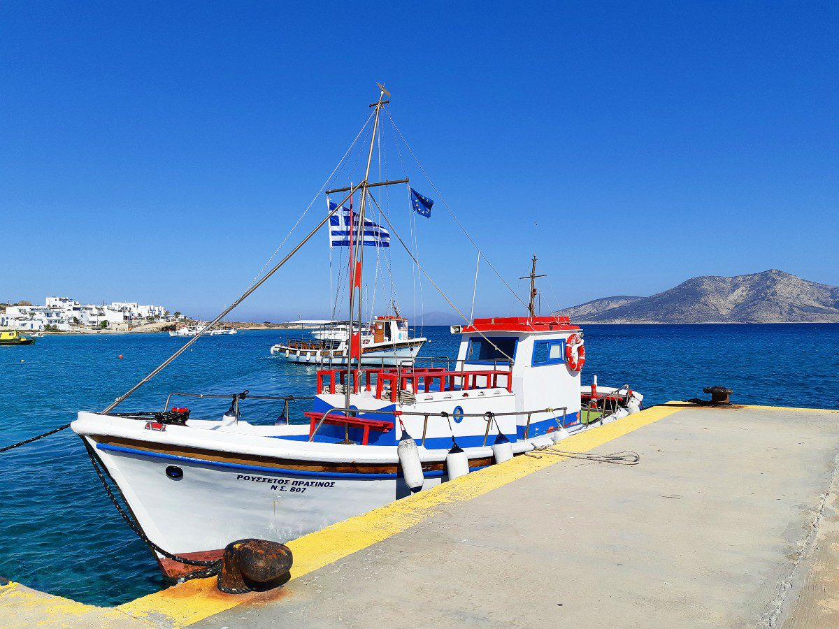 Boat tours in Koufonisi