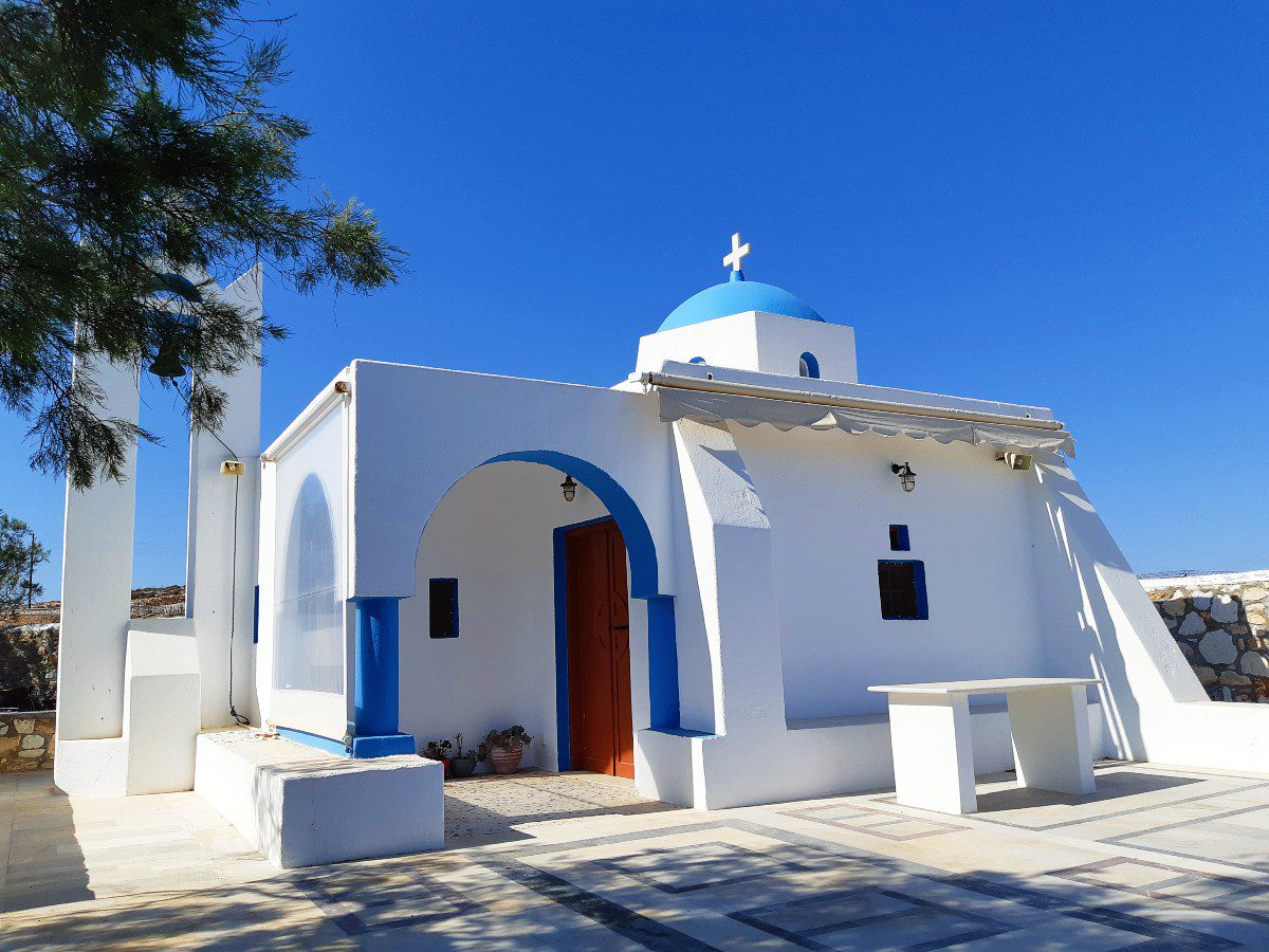 Church in Koufonisia