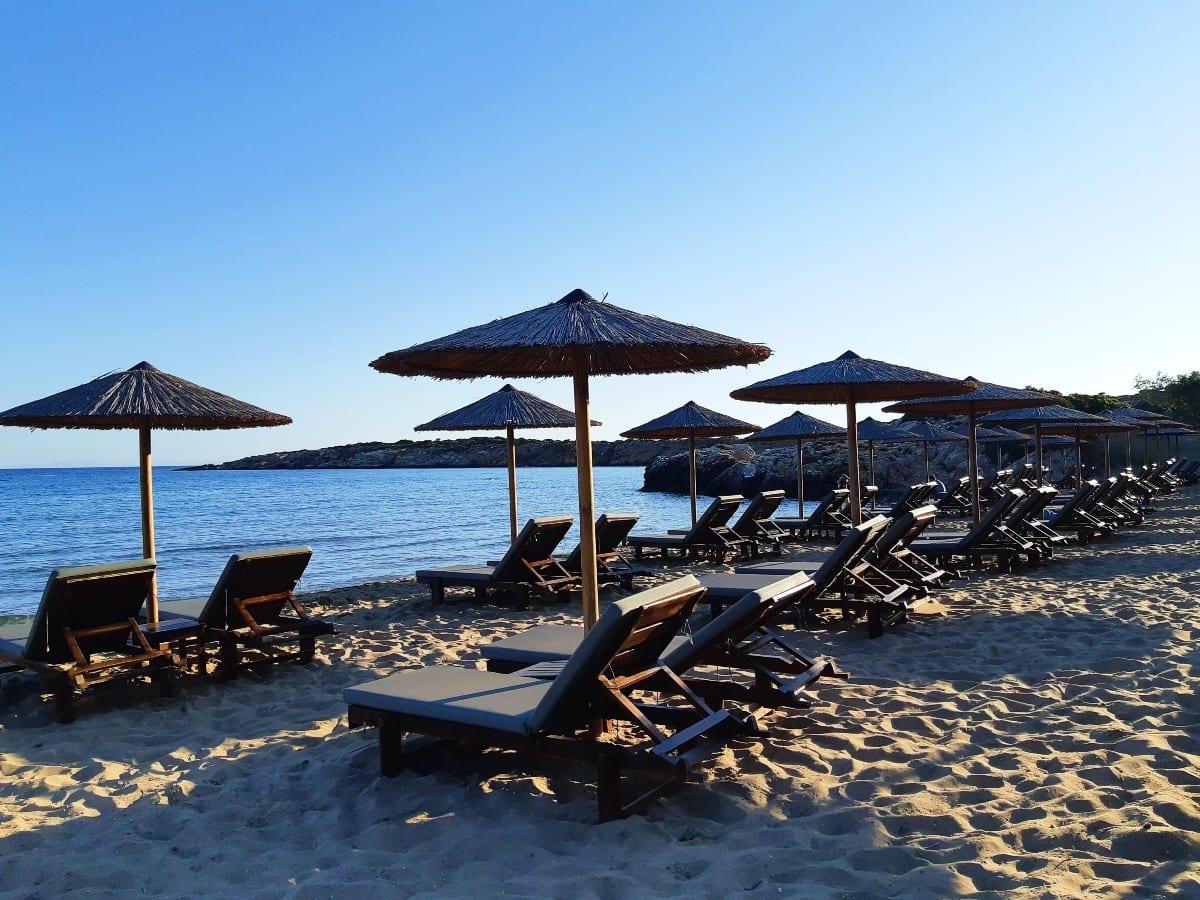 Faragas beach in Paros