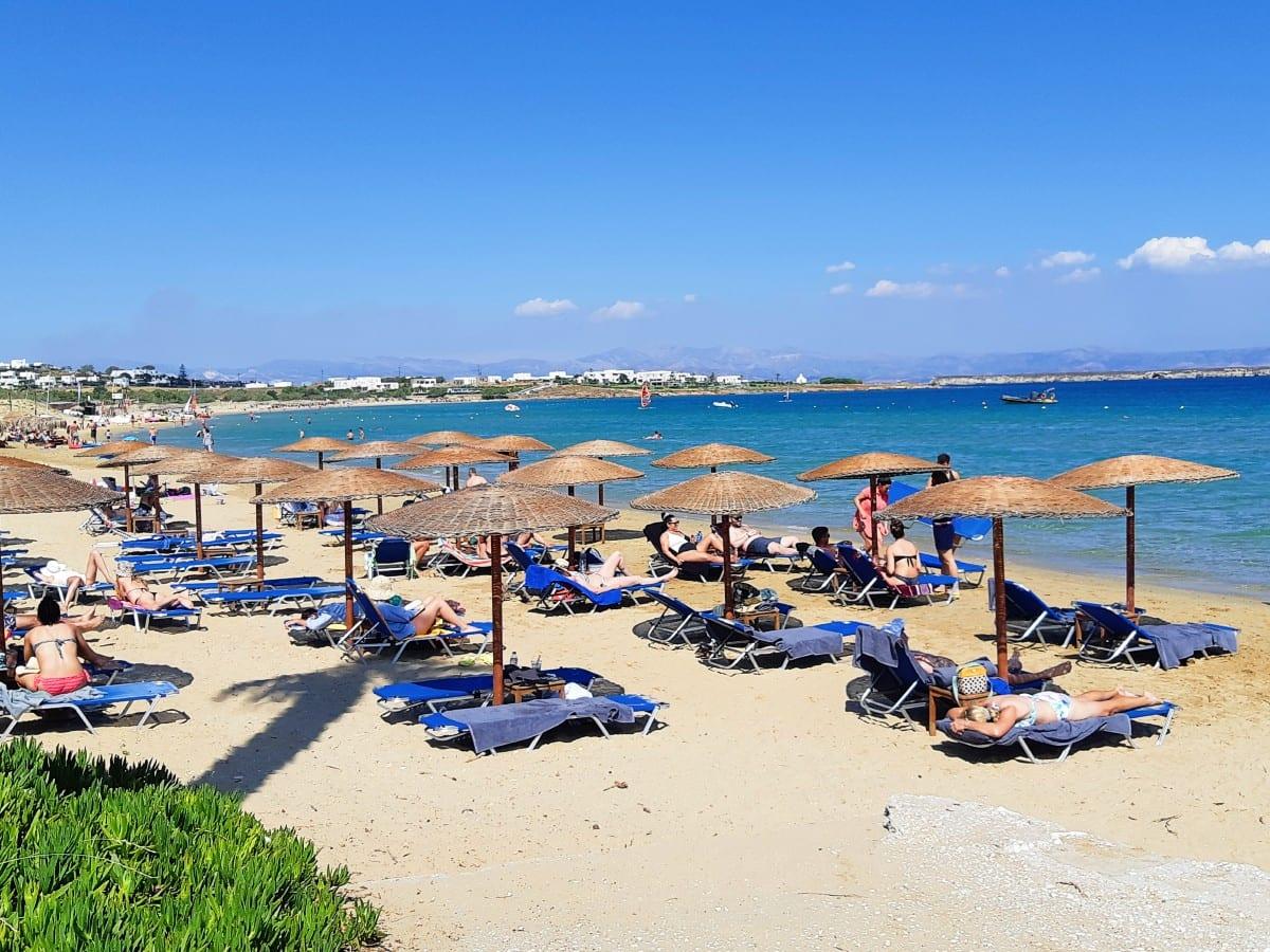 Golden Beach organized beach