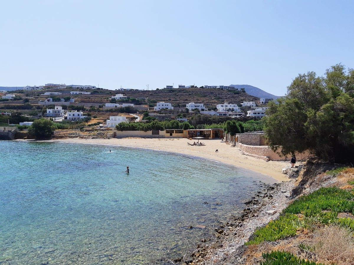 Parasporos beach near Parikia