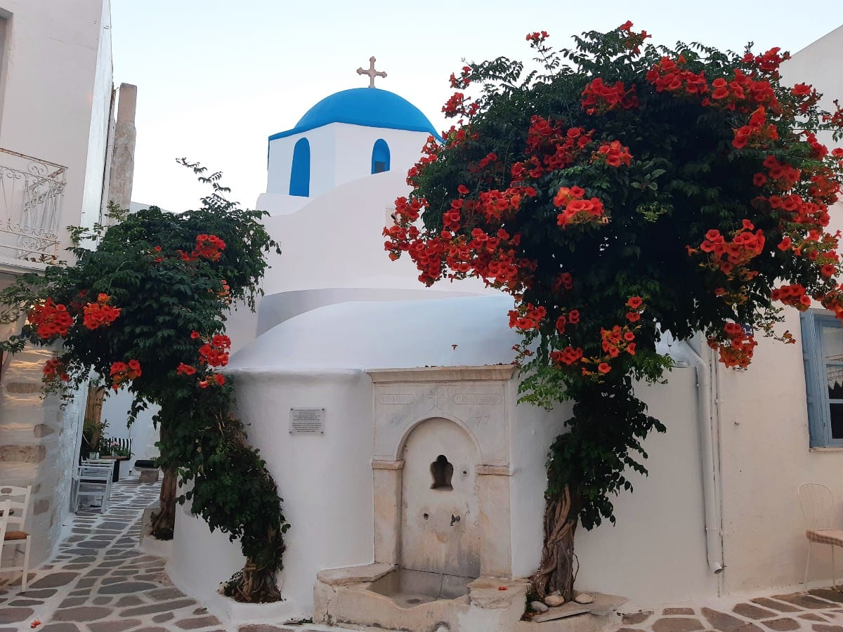 Parikia Cycladic architecture