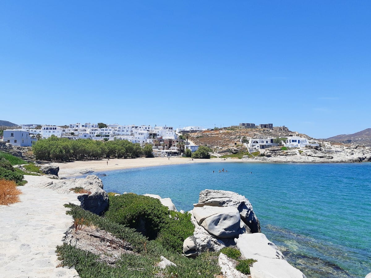 Piperi beach in Paros
