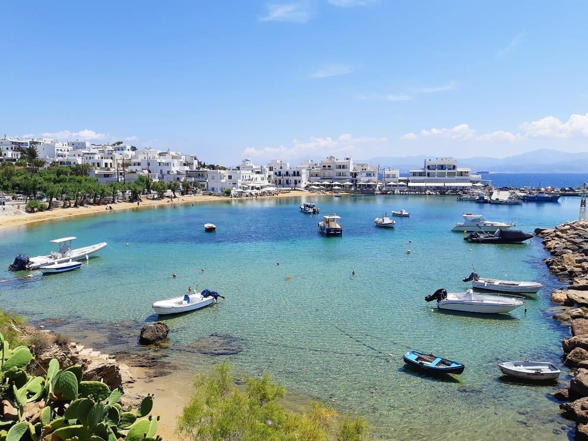 Piso Livadi beach in Paros