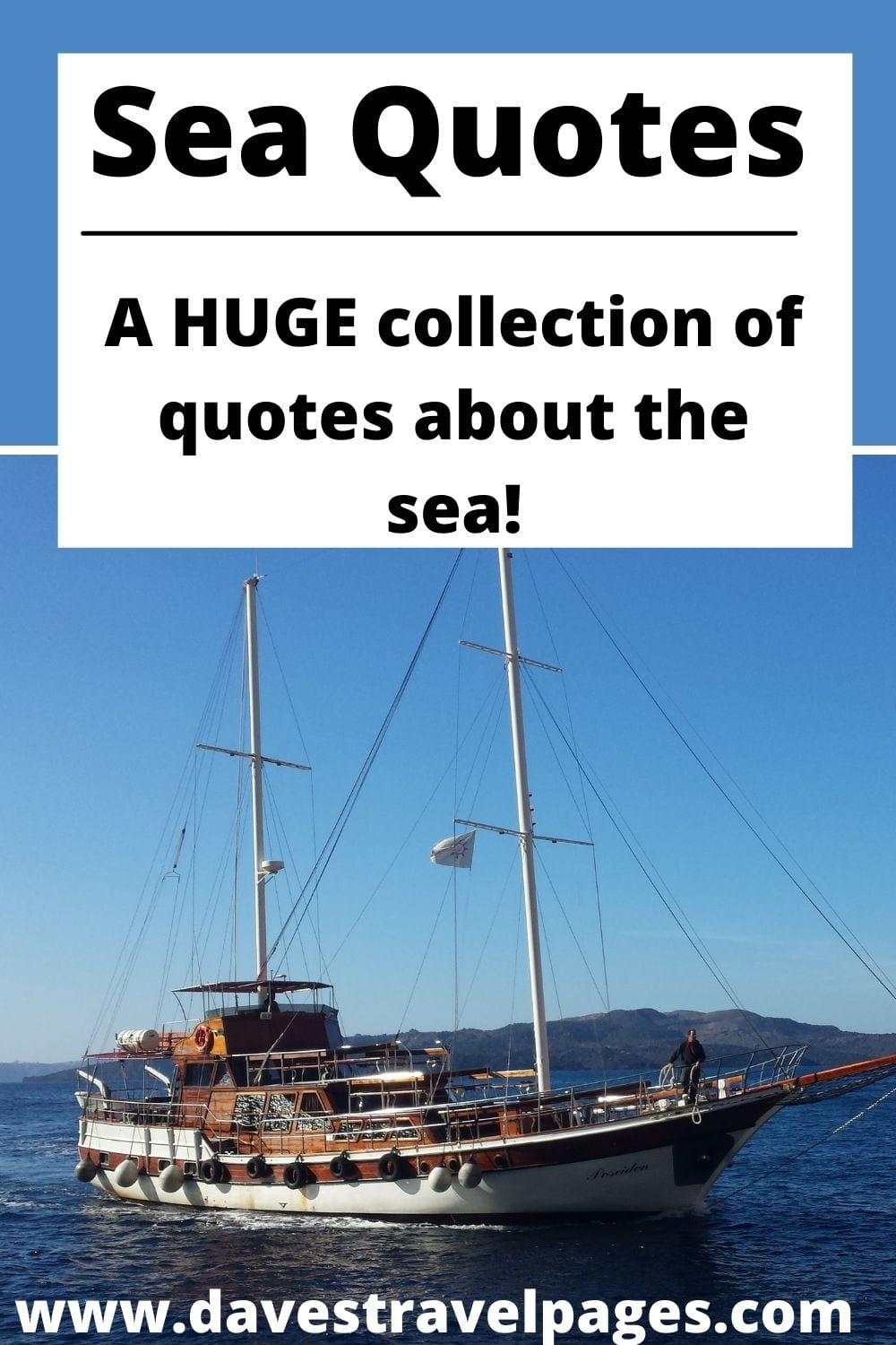 A HUGE collection of quotes about the sea!