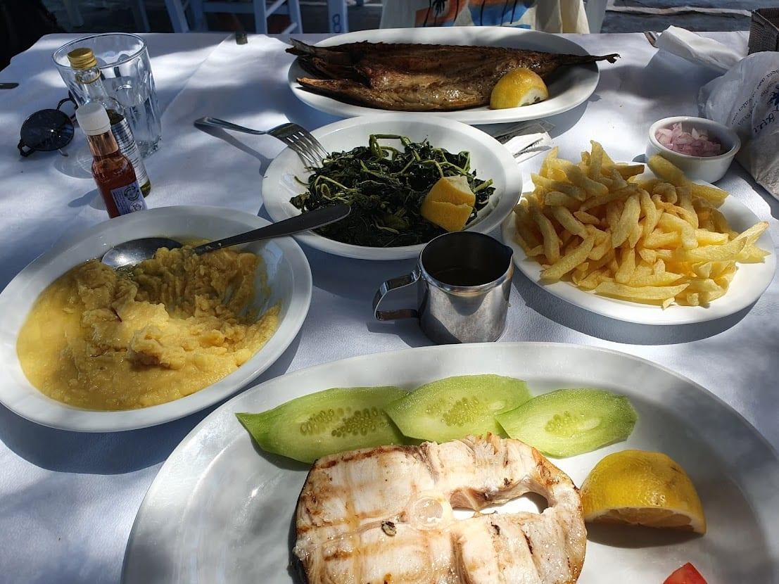 מסעדת תלמי באמפלס, באי פארוס