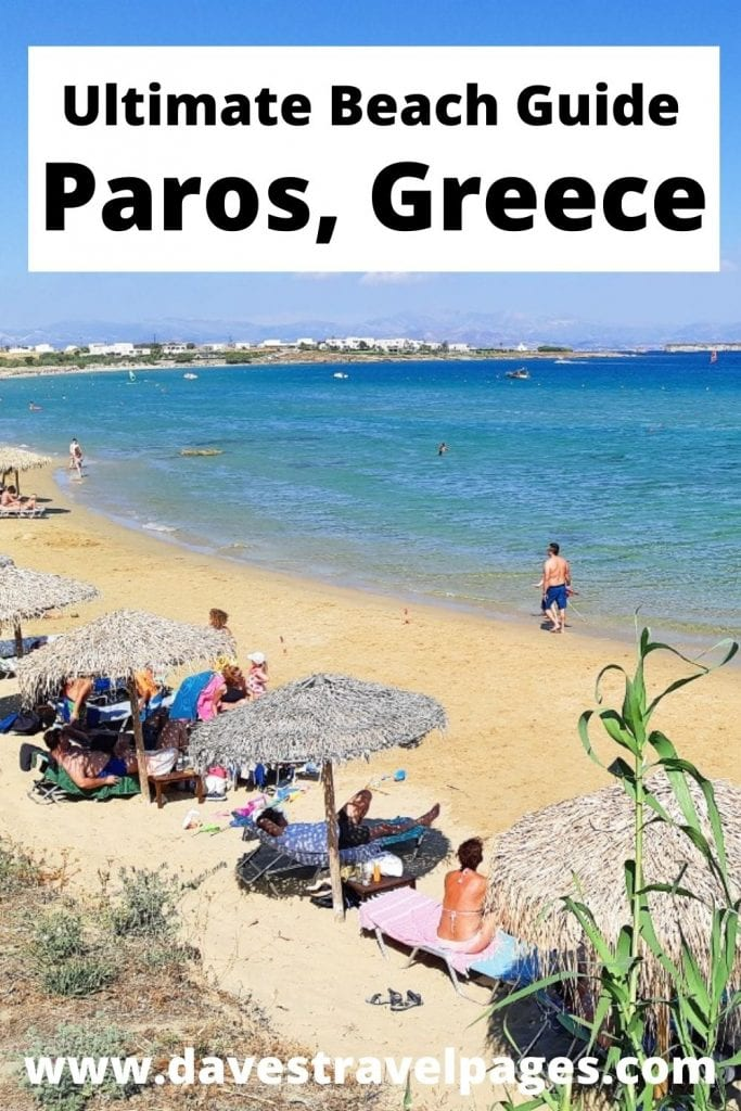 A complete guide to the best Paros beaches