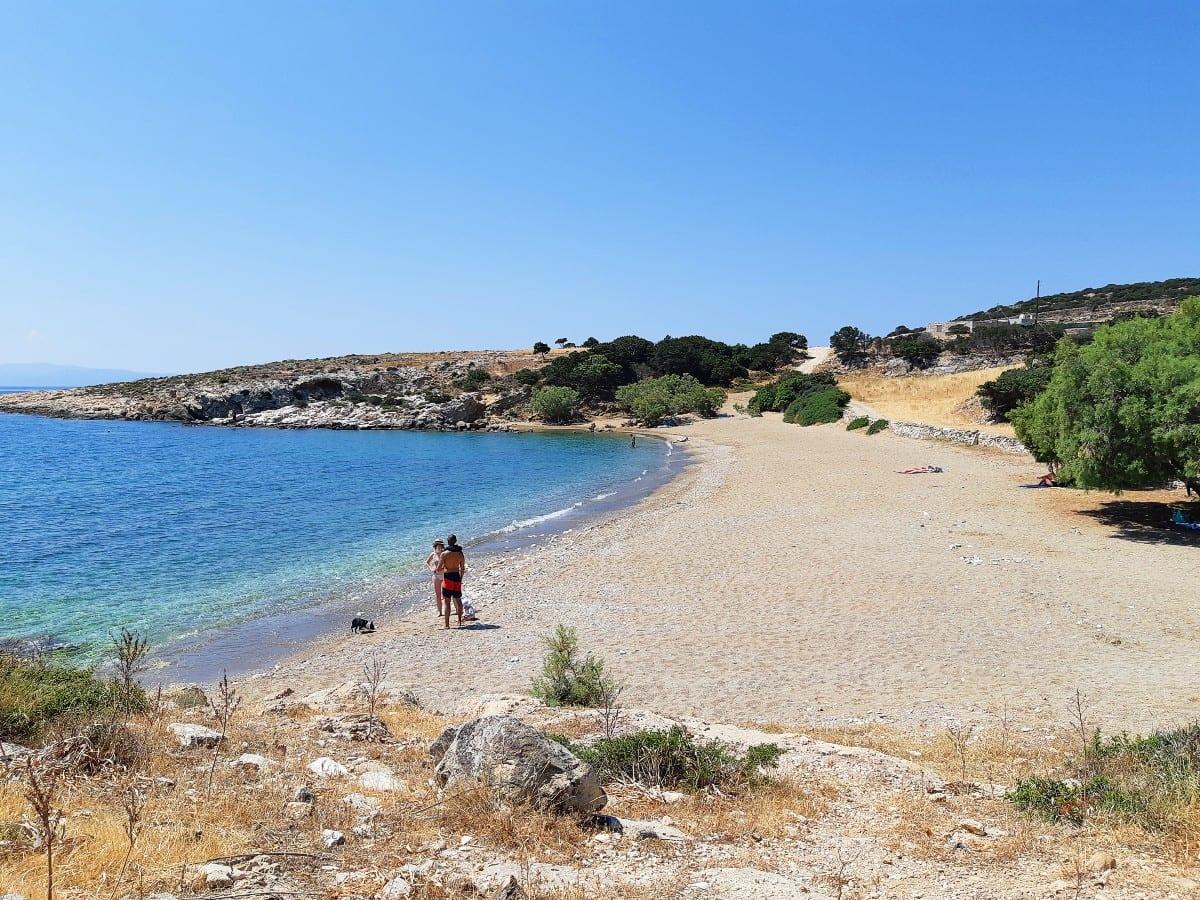 Tripiti Beach in Paros