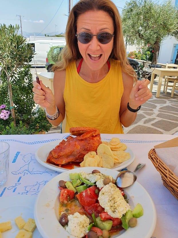 Tsitsanis restaurant in Paros Greece