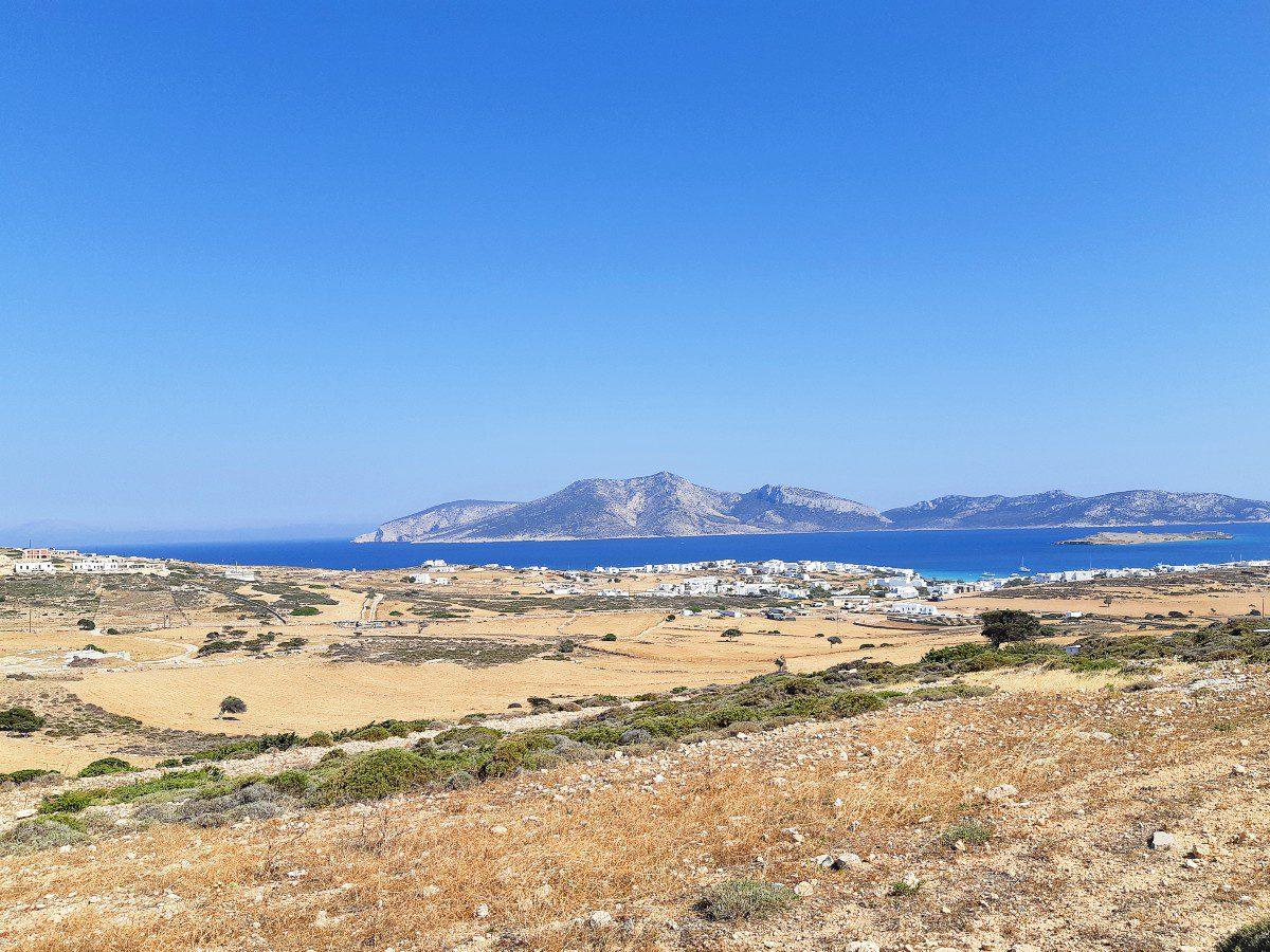 View of Keros island