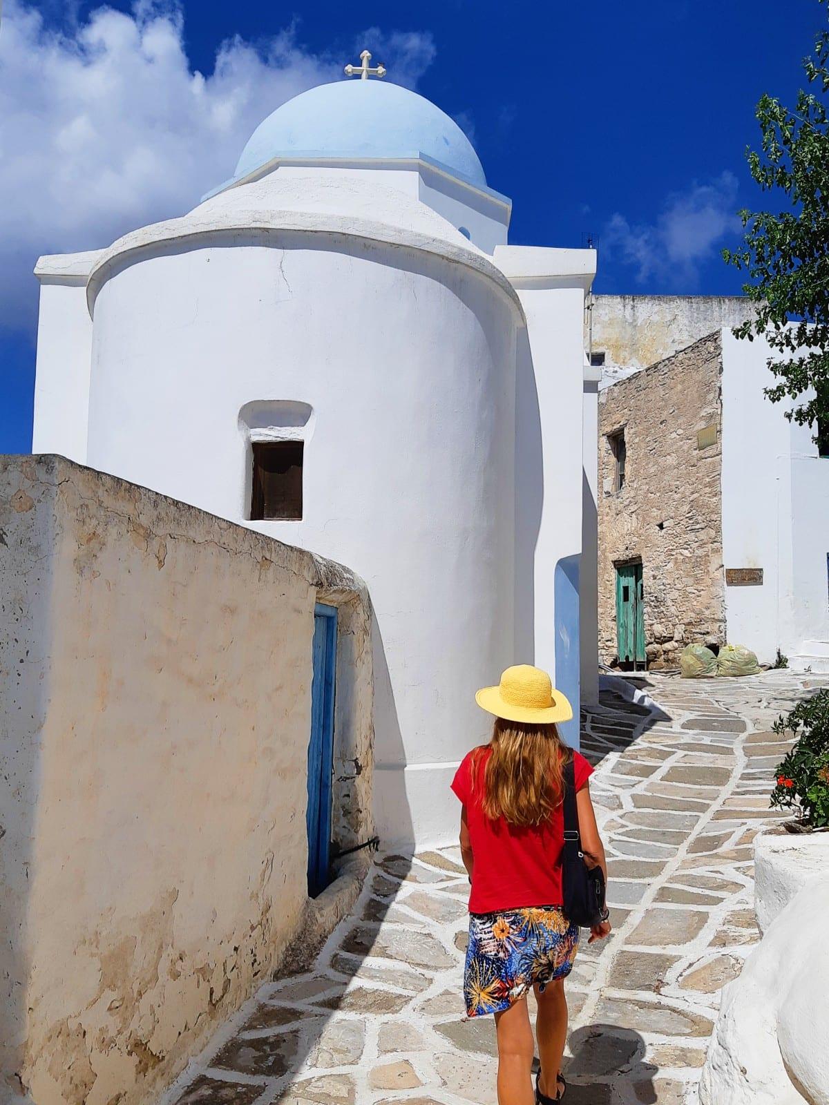 Visit Lefkes in Paros