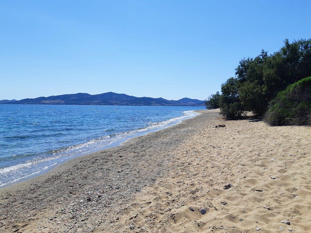 Voutakos Beach in Paros island, Greece