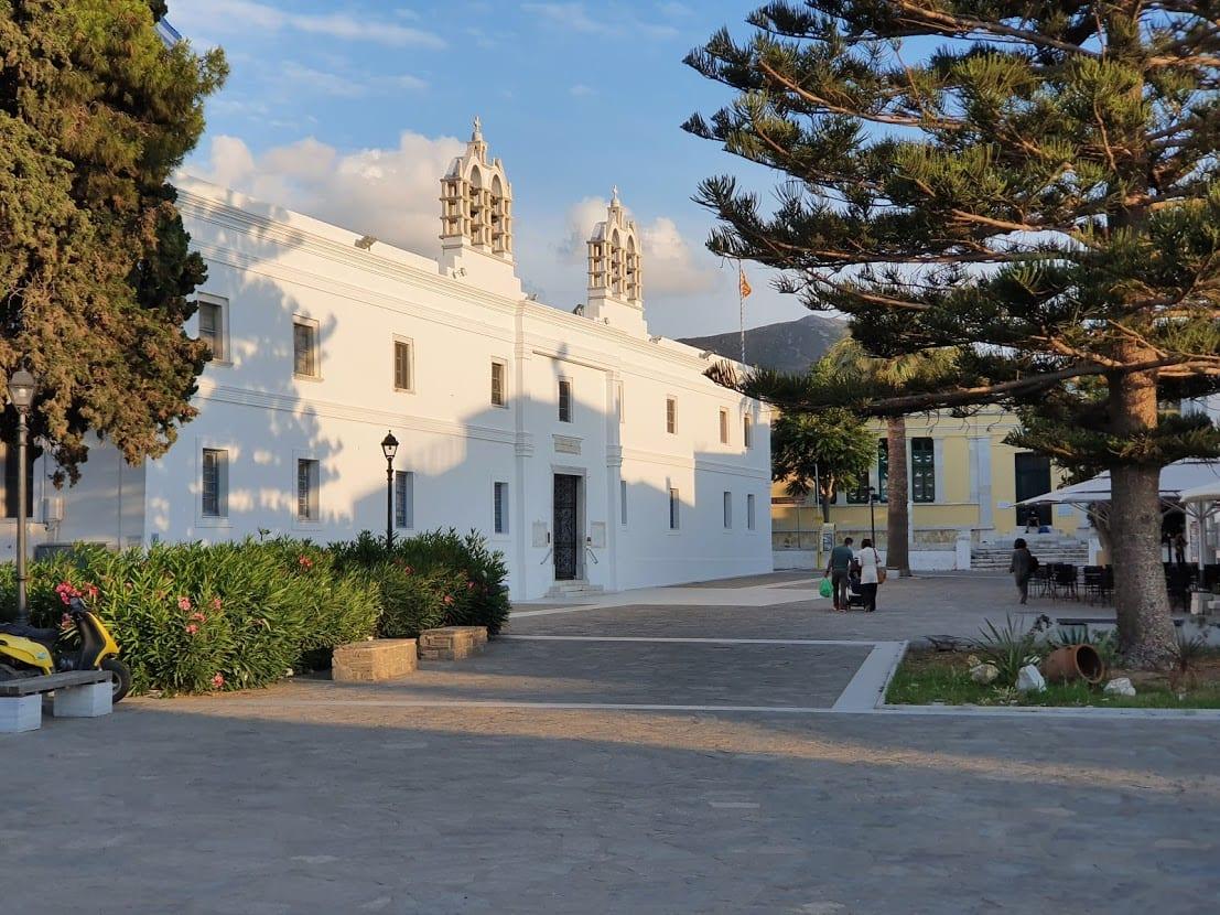 church of Panagia Ekatontapiliani in Paros