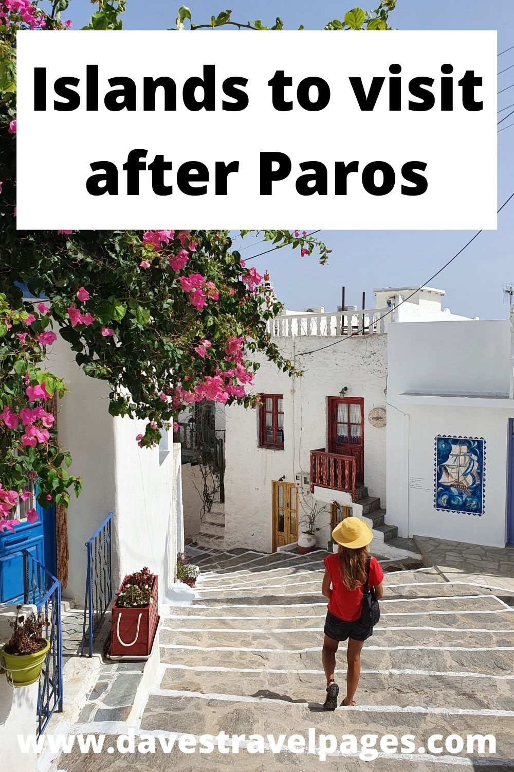Islands to visit after Paros in Greece
