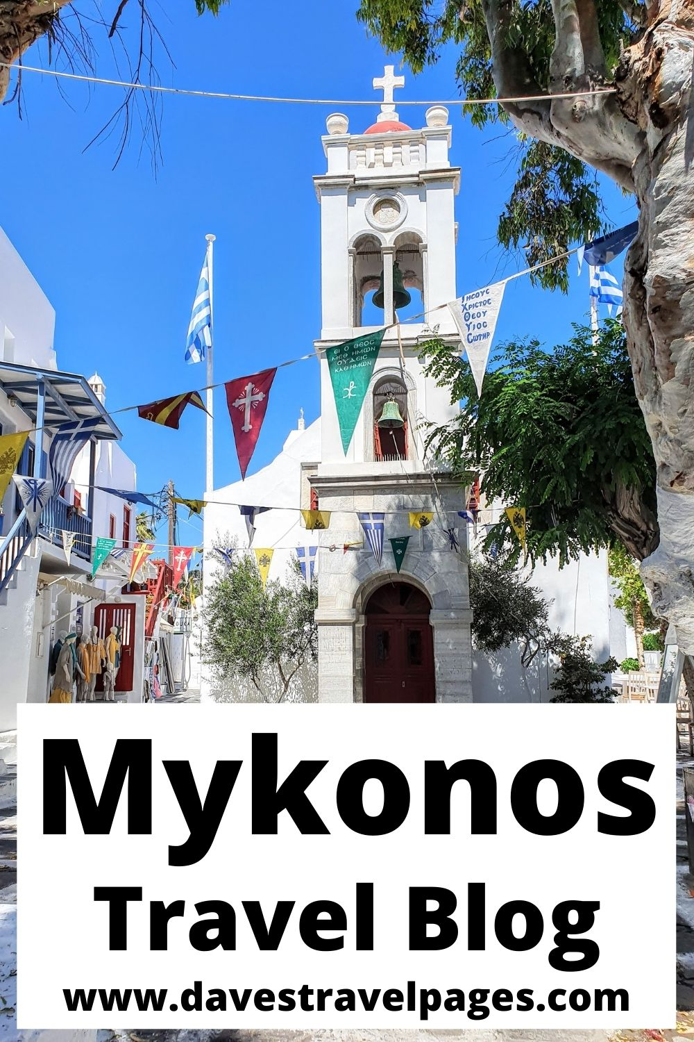 This Mykonos travel blog is packed full of travel tips to help you plan an amazing trip to Mykonos, Greece!