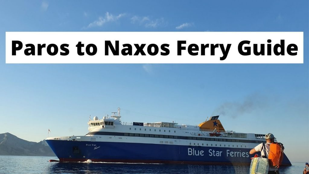 How to travel from Paros to Naxos by ferry