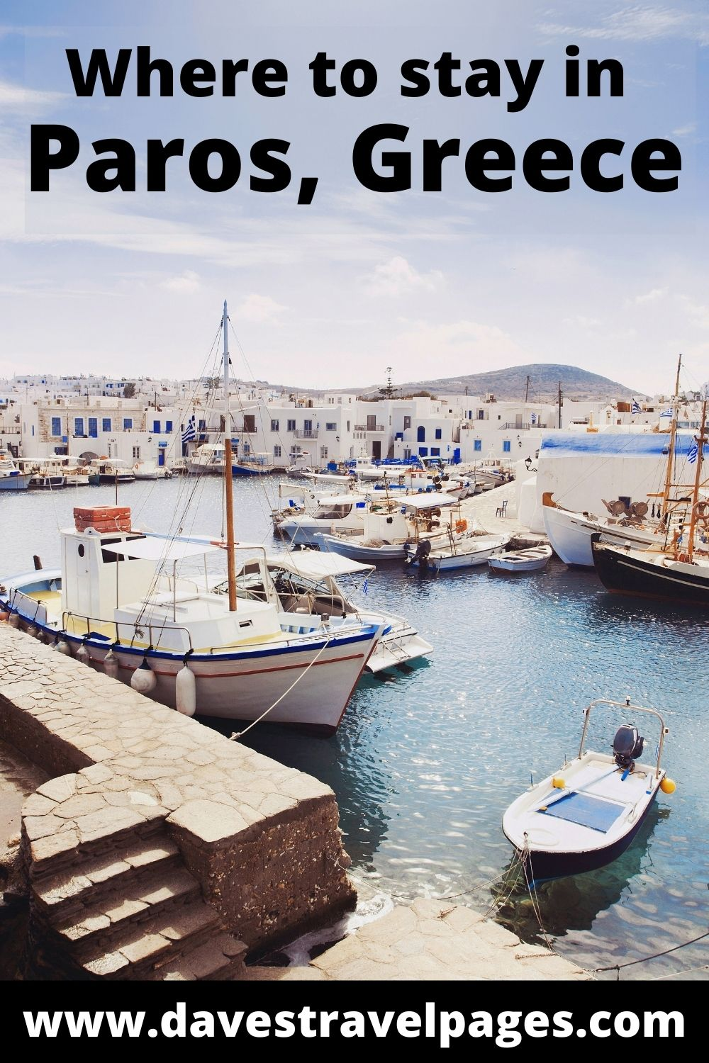 Where to stay in Paros island in Greece