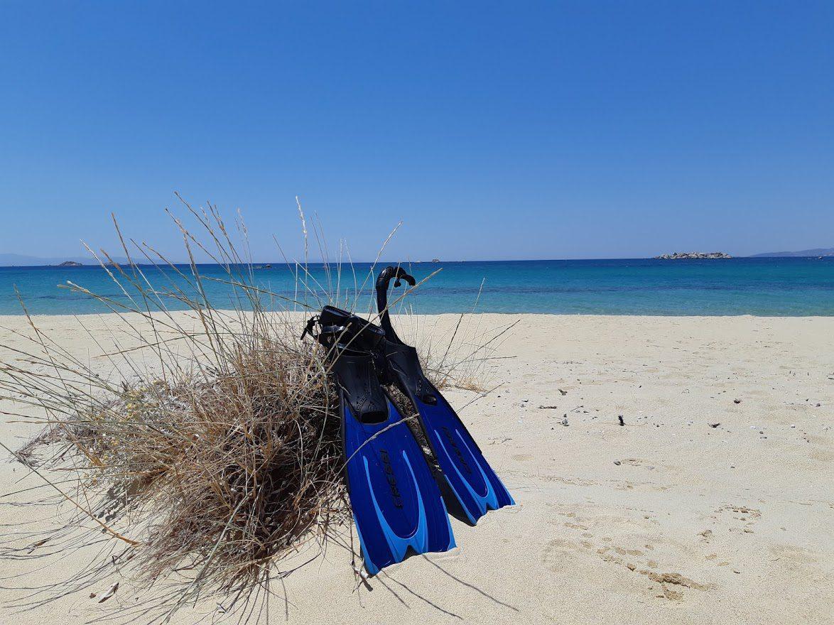 A beach in Naxos
