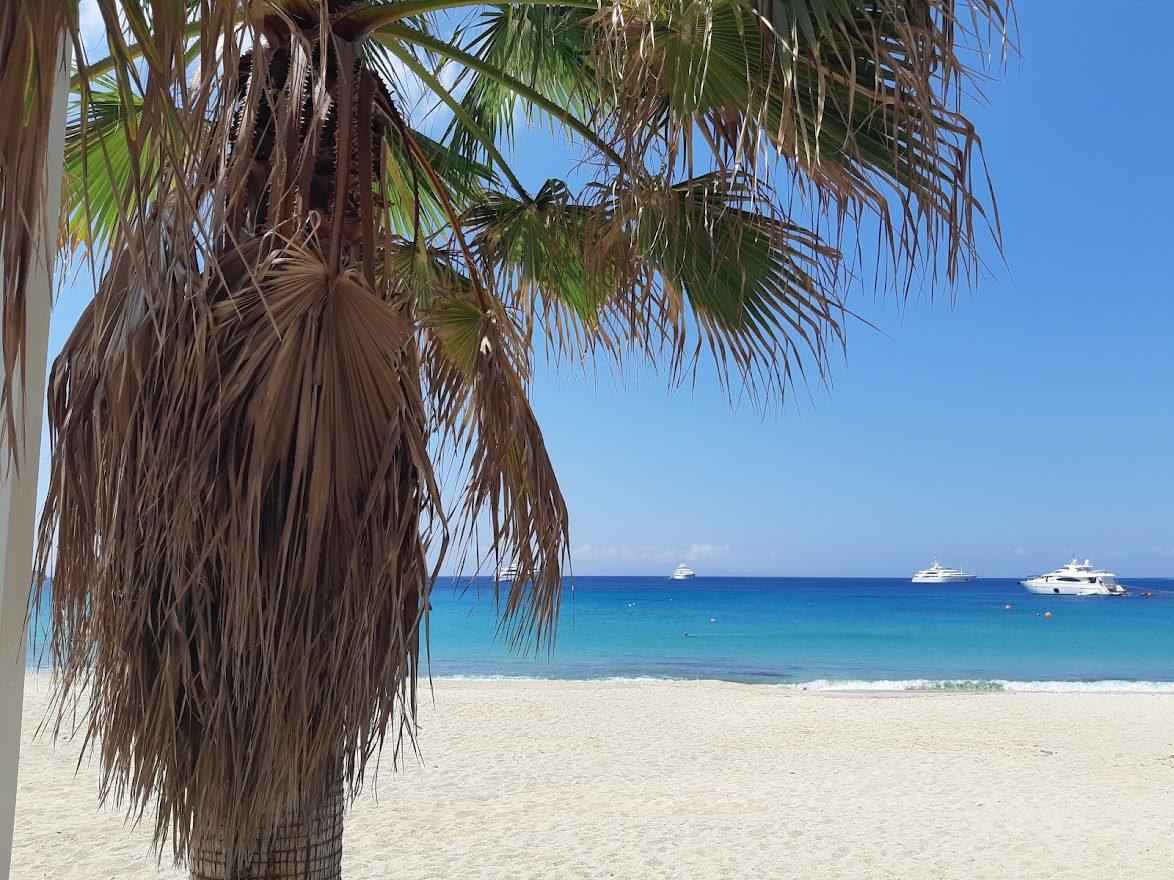 Beautiful beaches in Mykonos