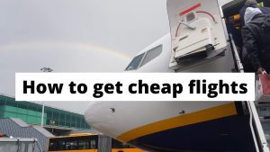 How to get cheap flights the next time you want to travel