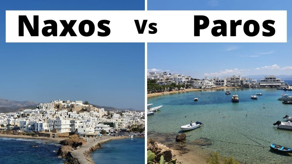Naxos vs Paros - Which Greek island is the best one for you?