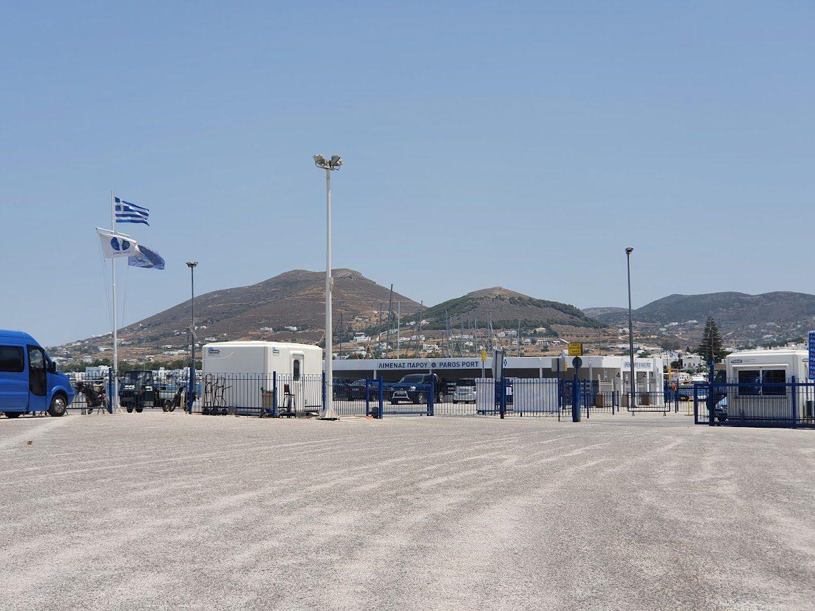 Paros Island Ferry Port