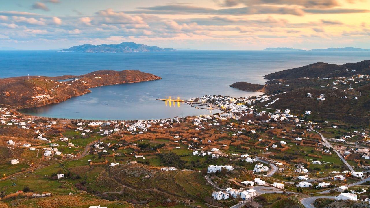 A view over Serifos island