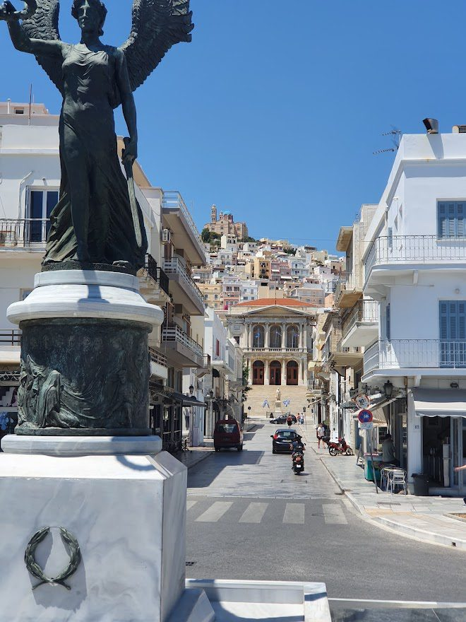 Sightseeing in Syros