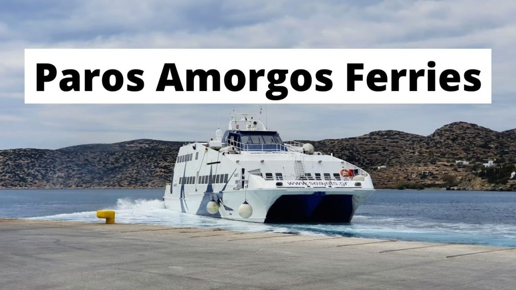 Paros Amorgos SeaJets Ferry